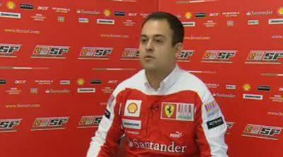 Entrevista con Ioverno (Ferrari) previa al GP de Japón 2010