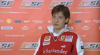 Entrevista con Massimo Rivola (Ferrari) previa al GP de Corea 2010