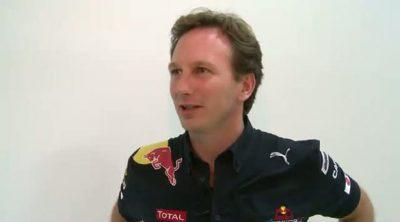 Entrevista a Christian Horner tras el GP de Corea