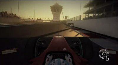 Vuelta virtual al Circuito de Abu Dabi sobre un Ferrari