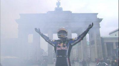Vettel celebra su título en las calles de Berlín