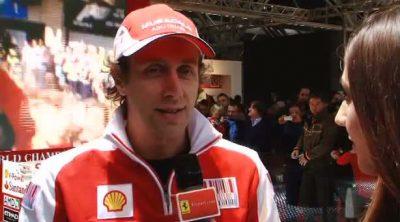 Luca Badoer se despide de Ferrari