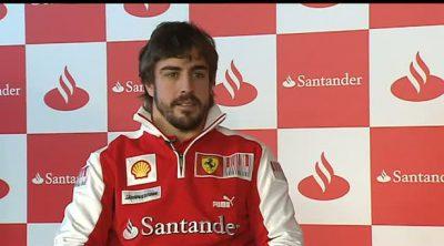 Fernando Alonso resume su temporada 2010