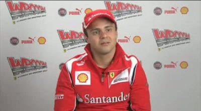 Entrevista a Felipe Massa en el 'Wrooom' 2011