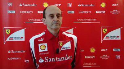 Entrevista con Luca Marmorini sobre el F150