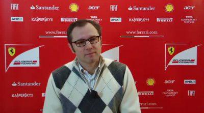 Entrevista con Stefano Domenicali sobre el F150