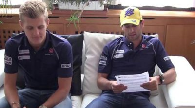 Nueva ronda de preguntas para los pilotos de Sauber