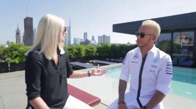 El test más 'cool' de Lewis Hamilton