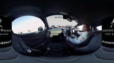 Fernando Alonso pilota un McLaren 650S en 360º