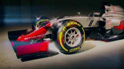 Haas F1 Team presenta su primer monoplaza para la Fórmula 1, el VF-16