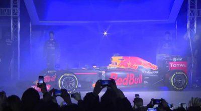 Red Bull presenta los colores para su nueva etapa en la Fórmula 1