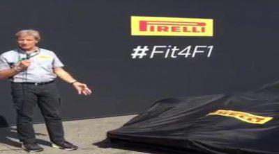 Pirelli presenta el prototipo de monoplaza para 2017