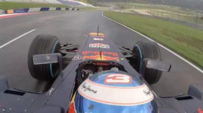 Una vuelta al circuito de Austria con Daniel Ricciardo