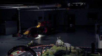 Una vuelta al Red Bull Ring con Ricciardo ¡en un coche Scalextric!