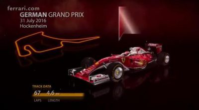 Sebastian Vettel encara su carrera de casa en Hockenheim