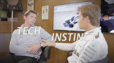 ¡A toda velocidad en las rectas de Hockenheim con Nico Rosberg!