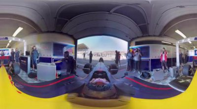 Una vuelta de 360º con Max Verstappen en Zandvoort. ¡Alucinante!