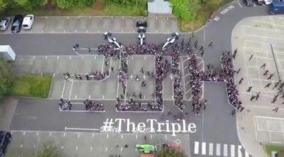 2014, 2015 y 2016: Mercedes celebra su triplete con sus empleados (I)