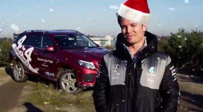 ¡Feliz Navidad de parte de Nico Rosberg!