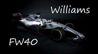 Temporada 2017: Así es el nuevo Williams FW40