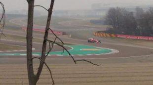 Räikkönen estrena el SF70H en Fiorano