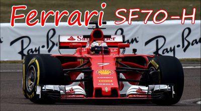 Temporada 2017: Así es el nuevo Ferrari SF70H