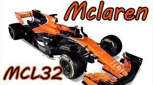 Temporada 2017: Así es el nuevo McLaren MCL32