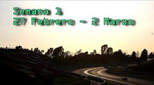Resumen test F1 2017 - Semana 1