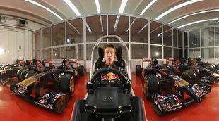 Vuelta al circuito de Sochi desde el simulador con Daniil Kvyat