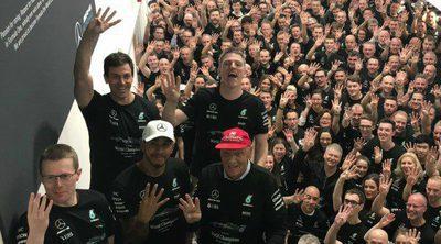 Mercedes celebra su 4º Campeonato de Constructores de manera consecutiva