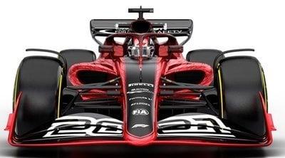 Así serán los monoplazas de la Fórmula 1 en 2021