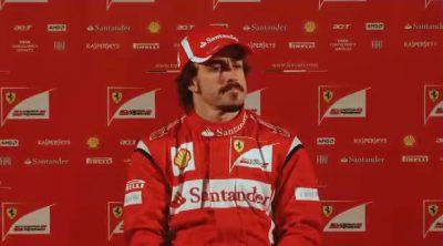 Entrevistas a Alonso y Massa sobre el F150