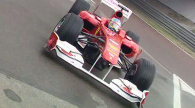 Alonso rueda en Fiorano con el nuevo F150