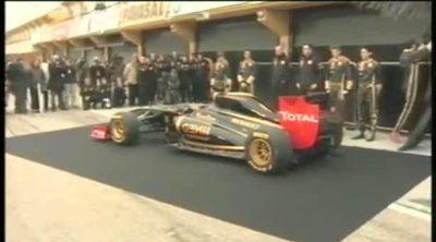 Presentación del Lotus Renault GP R31