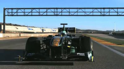 El Team Lotus inicia la pretemporada 2011