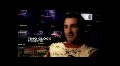 Timo Glock, director de TV por un día