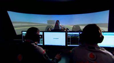 El simulador de McLaren