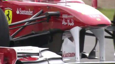 Ferrari nos explica el funcionamiento de su KERS y su volante