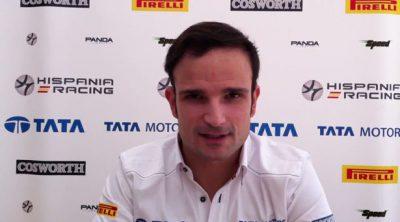 Vitantonio Liuzzi manda un saludo a los fans de Hispania Racing