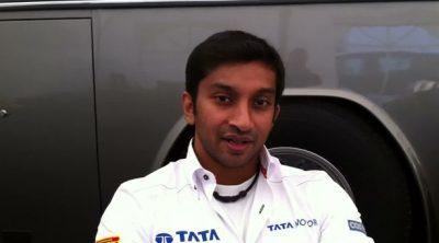 Narain Karthikeyan manda un saludo a los fans de Hispania Racing