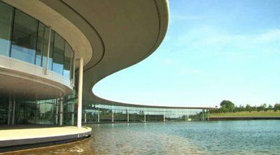 Los exteriores del 'McLaren Technology Centre'