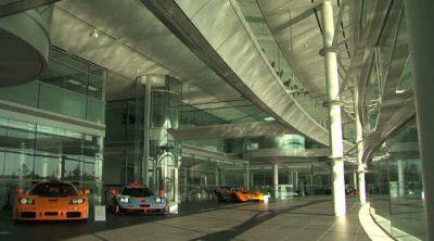 En interior del 'McLaren Technology Centre'