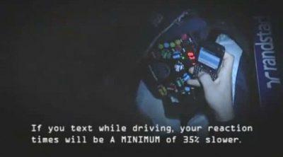 """Williams: """"No uses el teléfono al volante"""""""
