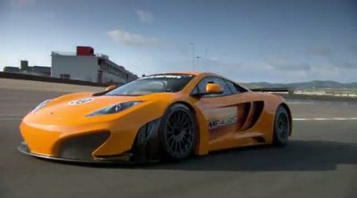 McLaren nos presenta el MP4-12C GT3