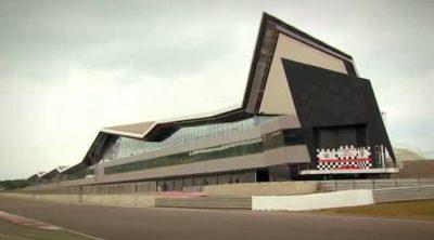 Inauguración del Silverstone 'Wing'