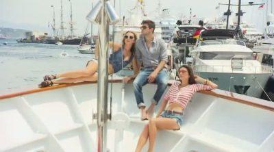 Jaime Alguersuari hace de modelo en Mónaco