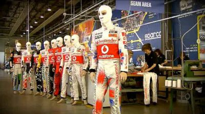 Así se fabrican los monos de McLaren