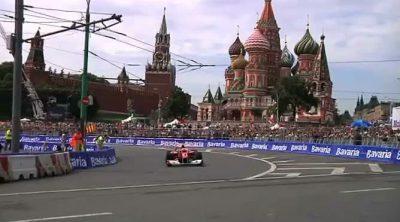 Exhibición de la Scuderia Ferrari en Moscú