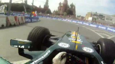Exhibición del Team Lotus en Moscú