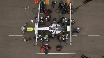 Mercedes GP nos explica como se realiza un 'pit stop' en la Fórmula 1